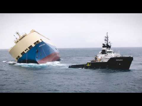 Salvage of the Modern Express by SMIT Salvage