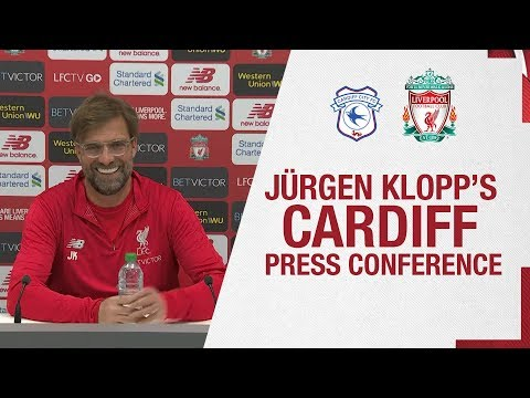 Jürgen Klopp's Pre-match Press Conference | Cardiff City