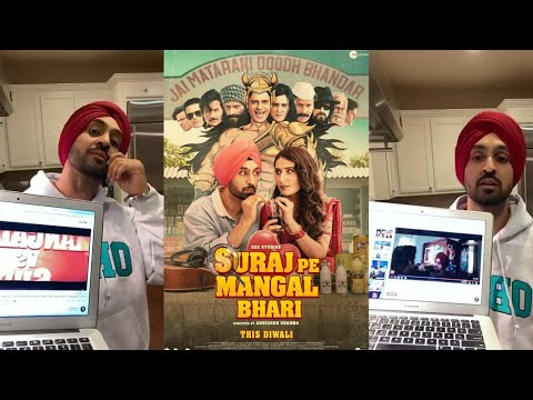Sooraj Pe Mangal Bhari New Movie Trailer Diljit Dosanjh Releasing This Diwali Special Surprise