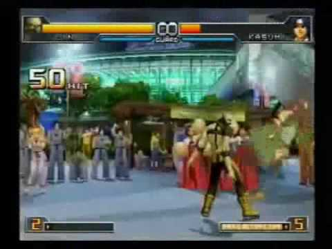 The king Of Fighters 2002 Unlimited Match Combos / Escondidos HD