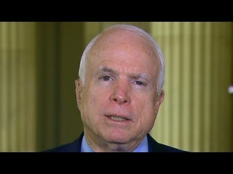 mccain - Piers Morgan talks with Sen. John McCain about the government shutdown and Republicans' efforts in to derail Obamacare.