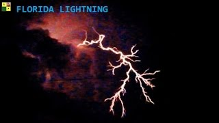 Cape Coral (FL) United States  city photo : FLORIDA LIGHTNING 7/12/2016 @ 12:00 a.m. Cape Coral Florida USA