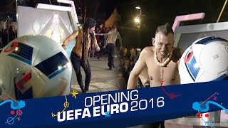 Video Battle 'Tug Of War' Limbad vs. Space Cowboy [Opening Celebration UEFA EURO 2016] [10 Jun 2016] MP3, 3GP, MP4, WEBM, AVI, FLV Oktober 2018