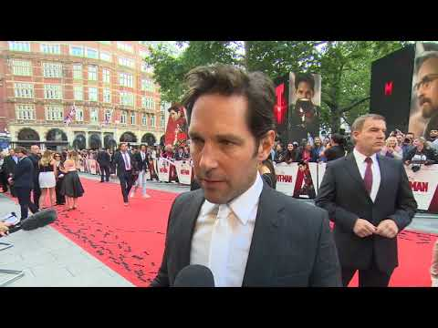 UK Premiere - Paul Rudd - Premiere UK Premiere - Paul Rudd (Anglais)