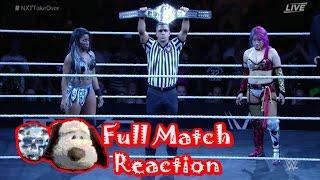 NXT TakeOver Orlando Asuka vs. Ember Moon FULL MATCH REACTION By Crazy Joe & Big Dog Jimmy. #NXTTakeOverOrlando Live Breakdown of NXT Women's Championship Ma...