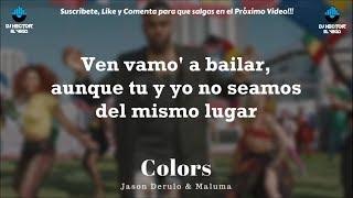 Video Maluma & Jason Derulo - Colors (Letra/Lyrics) MP3, 3GP, MP4, WEBM, AVI, FLV Juni 2018