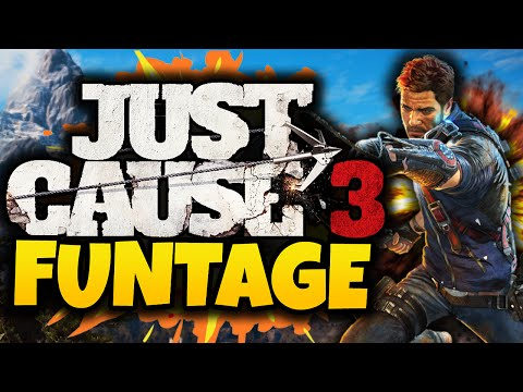 Just Cause 3: Funtage! - (JC3 Funny Moments Gameplay)