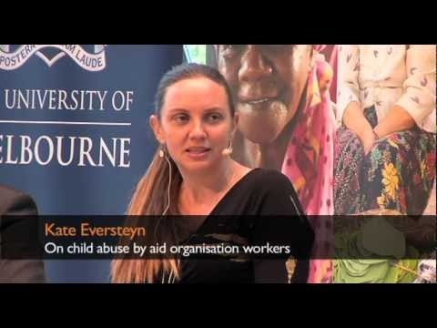 Kate Eversteyn on child abuse by aid organisation workers