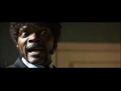pulp fiction - Ezekiel 25:17.