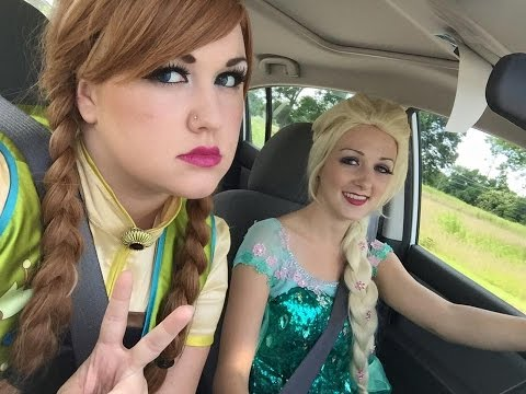 Anna and Elsa Switched (видео)