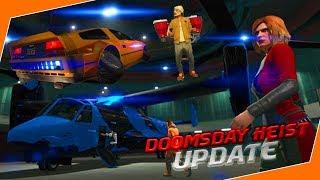 [GTA 5] NIEUWE JETPACK + DOOMSDAY HEIST + VLIEGENDE AUTO! (Update)