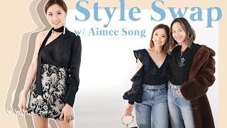 Style Swap w/ Aimee Song by Clothes Encounters