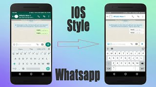Video IOS Apple Whatsapp Style On Any Android 2018 MP3, 3GP, MP4, WEBM, AVI, FLV Mei 2019
