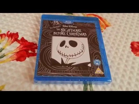 Tim Burton'S The Nightmare Before Christmas Blu-ray New And Factory Sealed