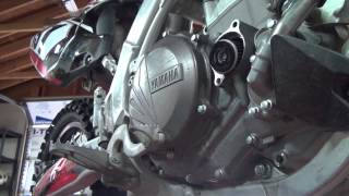 2. TwistnGrip's How to Change Oil on a 2011 Yamaha 450F