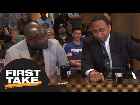 Stephen A. Smith and Emmitt Smith get into it over Cowboys and Giants | First Take | ESPN
