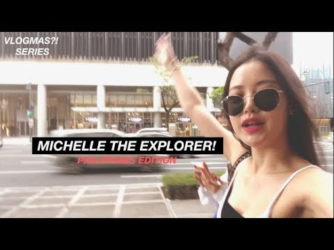 VLOGMAS?! | Michelle The Explorer, Getaway Vacation With Coco (Philippines Edition)