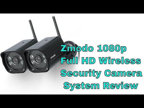 Zmodo 1080p Full HD Wireless Security Camera System Review