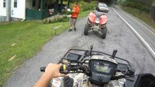 2. Suzuki Vinson 500 trail ride