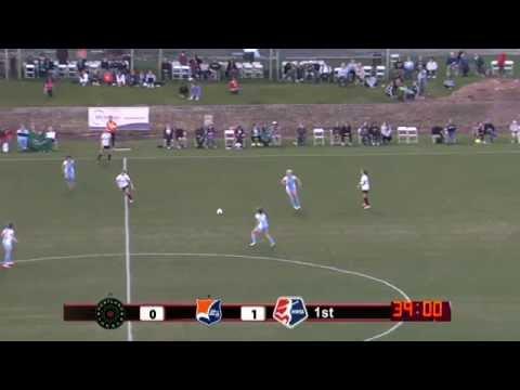 Sky Blue FC vs. Portland Thorns FC - April 19, 2014 (видео)