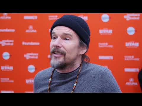 Ethan Hawke talks Sundance, Juliet, Naked and bringing his 13th film to the festival