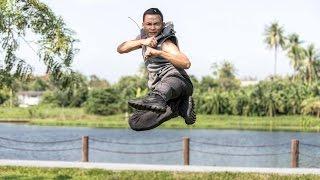 tony jaa performance muay thai boran