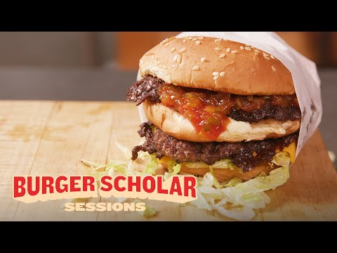 How to Cook a Perfect Double Cheeseburger with George Motz | Burger Scholar Sessions