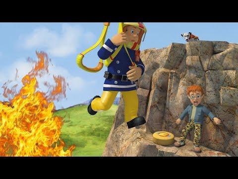 Fireman Sam US New Episodes HD | Sam's Birthday - Cliff Rescues! | S10 Best Bits 🚒🔥Kids Movies