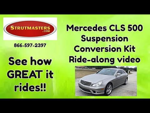 Air Suspension Parts | 2003 Mercedes CLS 500