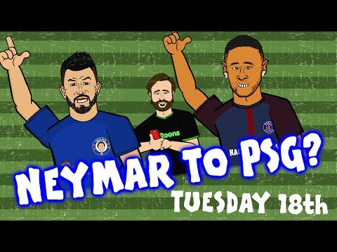 NEYMAR TO PSG? Aguero To Chelsea? Robertson To Liverpool (Transfer News)