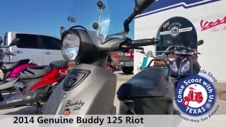 9. 2014 Genuine Buddy Riot 125
