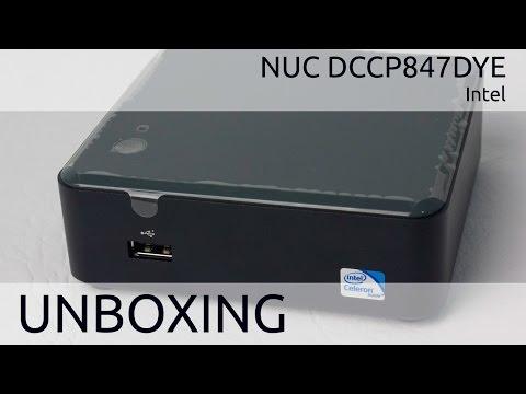 Intel NUC DCCP847DYE Unboxing