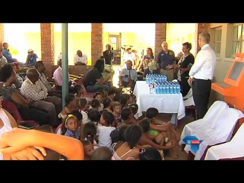Kinders baat by Bloodhound-projek / Children benefit from Bloodhound project