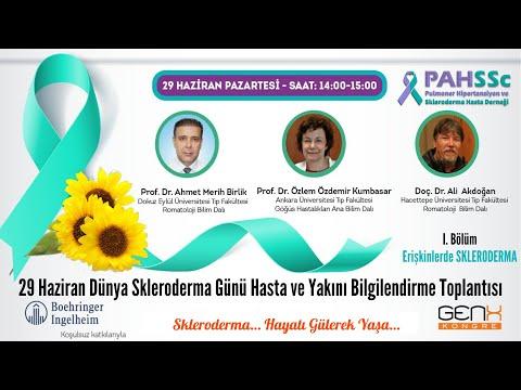 Bölüm 1 - Saat 14:00 ERİŞKİN SKLERODERMA - 2020.06.29
