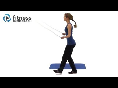 Jump Rope Workout Routine – Intense Home Cardio & Toning Exercises