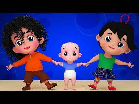 Junior Squad Kids Nursery Rhymes - chubby cheeks 3d rhymes baby songs kids videos Jr.Squad S01EP02