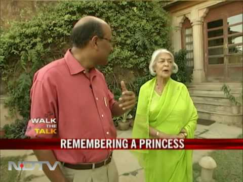 Walk The Talk with Maharani Gayatri Devi (Jaipur)