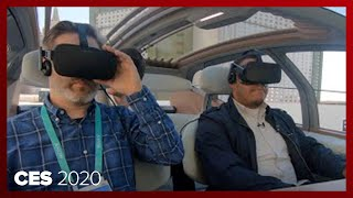 Autonomous Audi AI:Me uses VR to escape boring traffic by Roadshow