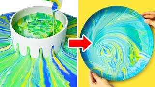 Video 18 LOVELY DIY PLATES AND CUPS DECOR MP3, 3GP, MP4, WEBM, AVI, FLV September 2018