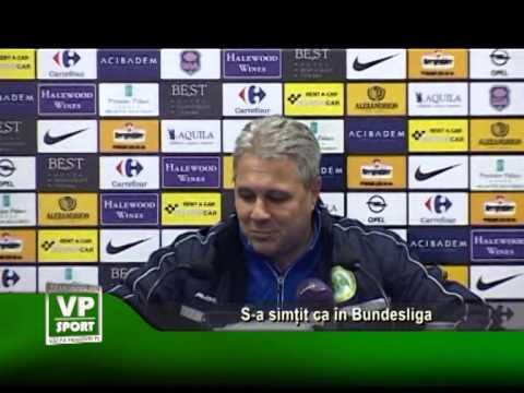 S-a simțit ca în Bundesliga