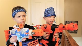 [Nerf Battle] Payback Time Squad vs Daddy (2019)