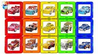 Video Learning Color Disney Cars Lightning McQueen rainbow puzzle Nursery Rhyme Play for kids car toys MP3, 3GP, MP4, WEBM, AVI, FLV Januari 2019