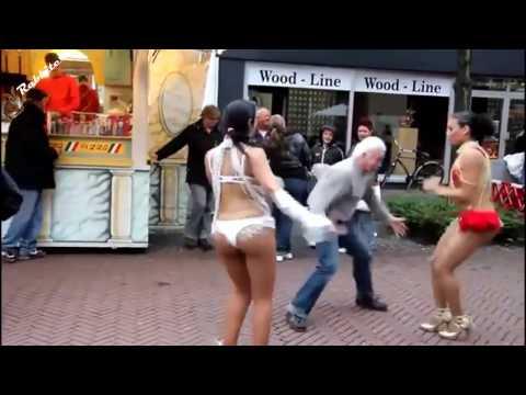 Танцуем Боба - Боба - Гога / Ремикс. Прикольные танцы и танцоры. - DomaVideo.Ru