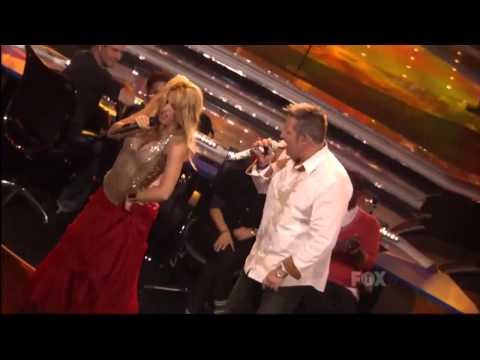 Шакира & Раскал Флатц - Гипси (Американ Идол)