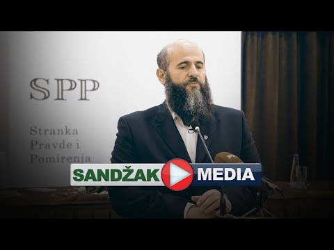 Izborna skupština BDZ Sandžaka i preimenovanje u Stranku pravde i pomirenja