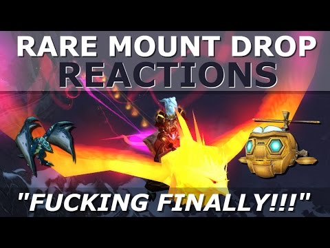 17 Rare WoW Mount Drop Reactions in World of Warcraft (видео)