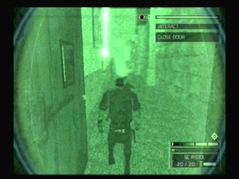 splinter cell chaos theory playstation 2 mission 2
