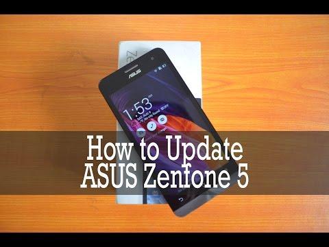 How to Update ASUS Zenfone 5
