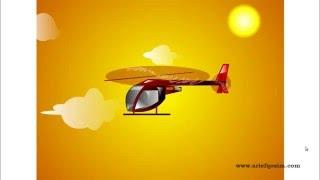 Animasi Gerak Helikopter