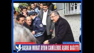 Başkan Murat Aydın Camilerde Aşure Dağıttı